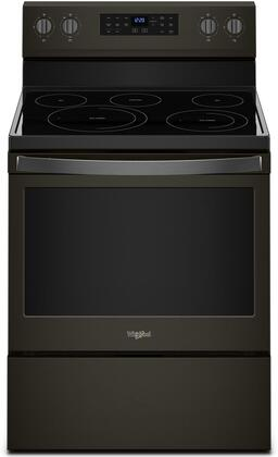Whirlpool WFE550S0HV 30 Inch Freestanding Electric Range with 5 Elements, Smoothtop Cooktop, 5.3 cu. ft. Total Oven Capacity