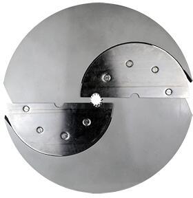 141-E6 Slicer Disc Blade for Heavy Duty Bulk Cheese and Vegetable Shredder-Slicer with 1/4