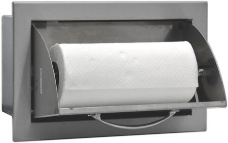 SODXPTH Built In Deluxe Stainless Steel Paper Towel Holder Lined and