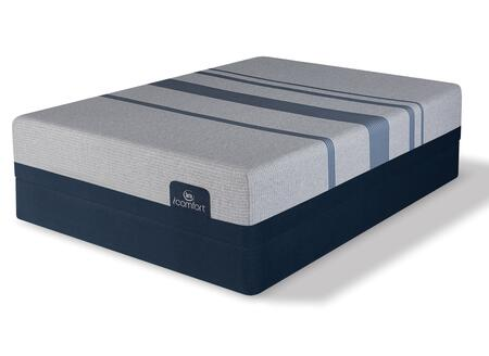 iComfort Foam 500801268-FMF Set with Blue Max 1000 Cushion Firm Full Size Mattress +