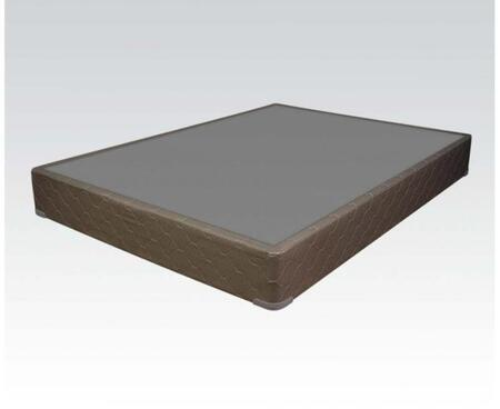Englander Silver Collection 29129 9 inch  King Size Mattress Foundation with Made in USA and Fabric Covering in Silver