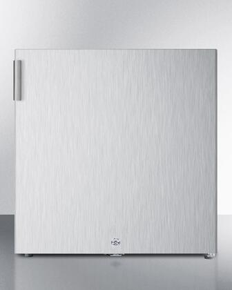 FS24LCSS 19 inch  Compact Upright 1.4 cu.ft. Capacity Freezer with Factory Installed Lock  Adjustable Thermostat and Low Temperature Operation in Stainless