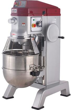 AX-M60P 31 inch  Planetary Mixer with 60 qt. Capacity  Heavy Duty Stainless Steel Construction  2 Speed Digital Controls  and 30 Minute Timer  in Stainless Steel