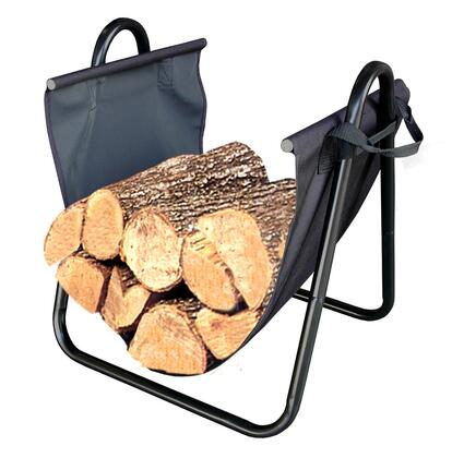 82431 Indoor Firewood Log Holder with Removable