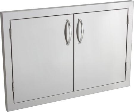 SSDD30M Masonry 30 inch  Double Door  in Stainless