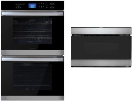 2 Piece Kitchen Appliance Package with SWB3052DS 30