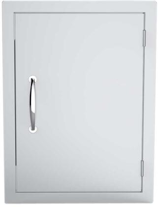 "DV1724 17"" x 24"" Classic Series Flush Style Vertical Single Access Door in Stainless"