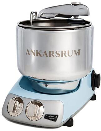 AKM6230PB Ankarsrum Original Mixer with 7 Liter Stainless Steel Bowl  3.5 L Double Whisk Bowl  Dough Hook  Roller  Scraper  Spatula  Dust Cover  Cookie Beaters