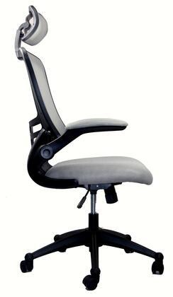 RTA-80X5-SG Techni Mobili Executive High Back Chair with