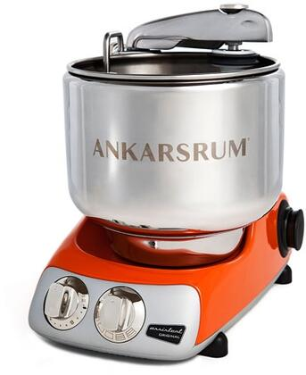 AKM6230PO Ankarsrum Original Mixer with 7 Liter Stainless Steel Bowl  3.5 L Double Whisk Bowl  Dough Hook  Roller  Scraper  Spatula  Dust Cover  Cookie Beaters