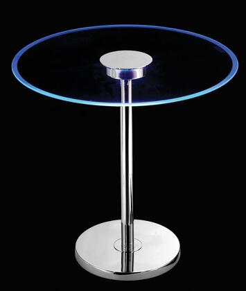 Click here for 32176GCH Spectral LED Table in Chrome Finish Glass... prices