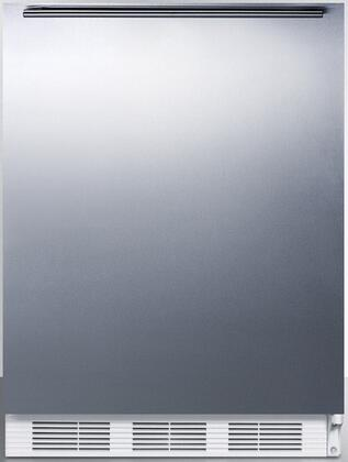 FF7LBISSHHADA 24 inch  FF7BI Series Medical  Commercially Approved Freestanding or Built In Compact Refrigerator with 5.5 cu. ft. Capacity  Seamless Interior