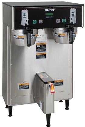 34600.0000 Dual ThermoFresh DBC 120/240V Brewer With Funnel Locks  Energy Saver Mode  SplashGard  ThermoFresh  in Stainless