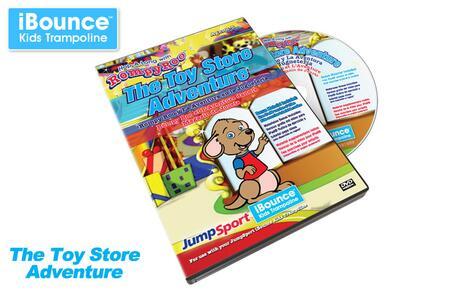 JumpSport VID-S-20816-00 RompyRoo's Toy Store Adventure DVD-Trilingual E F S