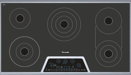 Thermador CET366NS Masterpiece Series 36 Inch Electric Smoothtop Cooktop