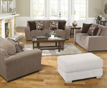 Prescott Collection 44873PCSTLARMKIT1OT 3-Piece Living Room Sets with Stationary Sofa  Loveseat and Living Room Chair in