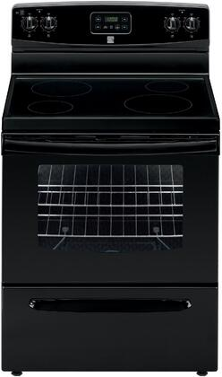 93019 30 Freestanding Electric Range with 4 Elements  4.9 cu. ft. Oven Capacity  Storage Drawer and Porcelain Cooktop in