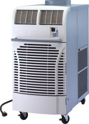 OFFICEPRO63 Portable Air Conditioner with 60 000 BTU Capacity  ETL Certified  Four Casters  Digital Control  Electronic Thermostat  Centrifugal Fan Type  and