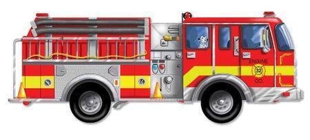 436 Giant Fire Truck Floor
