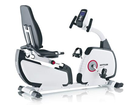 7629-000 GIRO R Programmable Recumbent Bike with LCD Electronic Computer Display with Push & Turn Controls and Poly