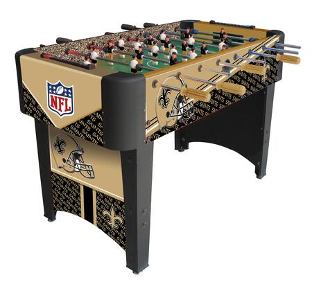 87-1031 New Orleans Saints Foosball Table With