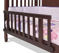 F09514.58 Toddler Guard Rail for Convertible Crib Distressed