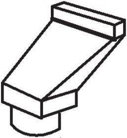 VP550 6 inch  - 3.25 inch  x 10 inch  Offset Kit -