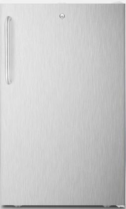 CM411LBI7SSTB 20 inch  Commercially Approved Compact Refrigerator with 4.1 cu. ft. Capacity  Factory Installed Lock  Hospital Grade Cord and Crisper Drawer  in