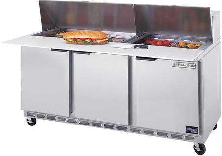 SPE72-18 3 Door Refrigerated Preparation