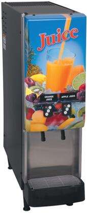 37900.0016 JDF-2S Lit Door 2 Flavor Cold Beverage System With LED and Portion Control  8lbs Ice Bank  Modular Dispense Deck  Push-Button  in 741115