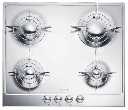 smeg pgfu36x 36 stainless steel gas sealed burner cooktop