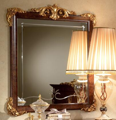 """Donatello_DONATELLODMIRROR_38""""_x_45""""_Mirror_with_Wooden_Frame_and_Carved_Detailing_in"""