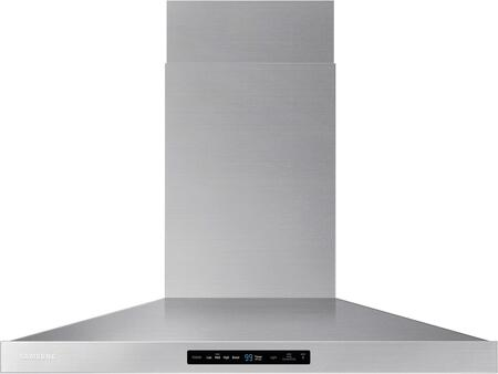 "NK36K7000WS 36"" Wall Mounted Range Hood with 600 CFM  LED Lighting  Baffle Filters and Hood Connectivity Wifi  in Stainless"
