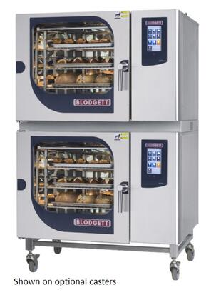BLCT6262E Double Stack Electric Boilerless Combination-Oven/Steamer with Touchscreen Control  Multiple modes  Self cleaning system. Capacity: 10 sheet pans or