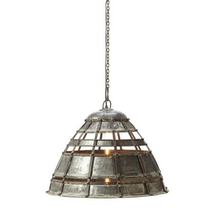 135004 Colossal Fortress 1 Light Pendant In Distressed