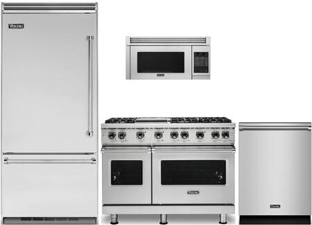 4-Piece Stainless Steel Kitchen Package with VCBB5363ELSS 36