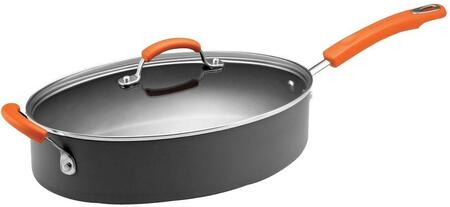 87395 5-Quart Covered Oval Saute Pan with Helper