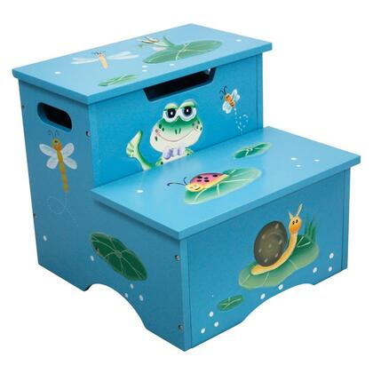 W-5423F Fantasy Fields - Froggy Step Stool