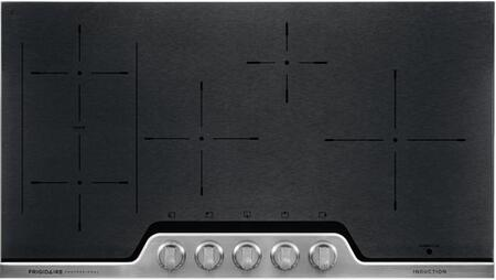 Frigidaire FPIC3677RF Professional 36 Inch Electric 5-Burner Induction Stainless Steel Cooktop