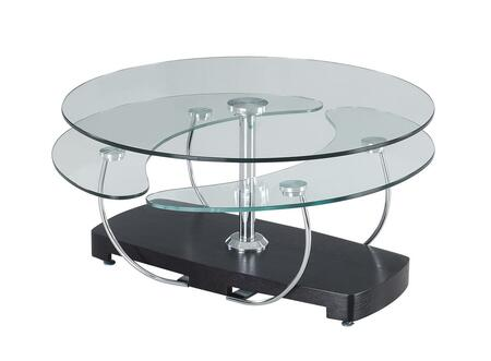 0810CT Circular Coffee Table with Sliding Under