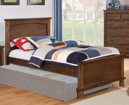 Kinsley Collection 401001F Full Size Bed with Subtle Molding Details and Sturdy Wood Construction in Country