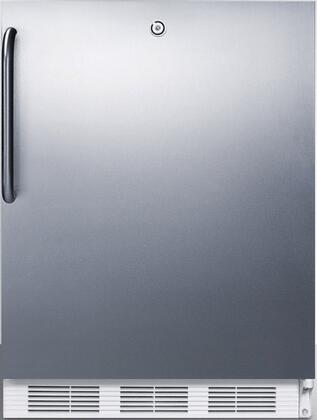 FF6LBISSTBADA 24 inch  FF6BIADA Series Medical Freestanding or Built In Compact Refrigerator with 5.5 cu. ft. Capacity  Front Door Lock  Crisper  Interior Lighting