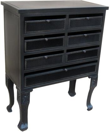 Vivian 13425 43 inch  Cabinet with Simple Pulls  Curved Legs and Flower Medallions in