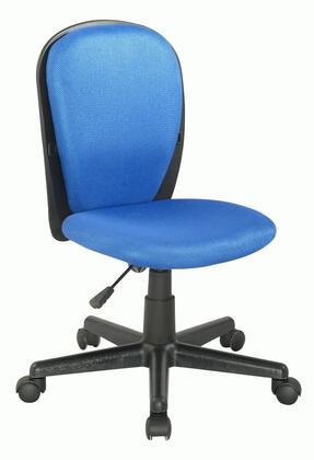 4245-CCH-BLU Blue Fabric Back and Seat Youth Desk