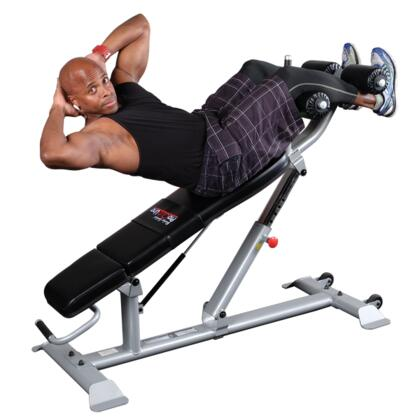 SAB500 ProClub Ab Bench with Gas-Assisted Adjustment and 4-Point