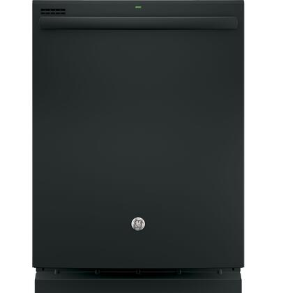 "GE 24"" Top Controls Tall Tub Built-In Dishwasher Black GDT635HGJBB"