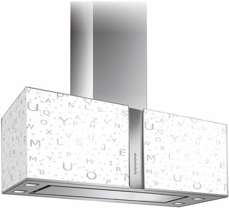 WL27MURALFALED 27 inch  Murano Alfa Series Range Hood with 940 CFM  4-Speed Electronic Controls  Delayed Shut-Off  Filter Cleaning Reminder  Internal Whisper-Quiet