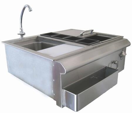 ALP25210 30 inch  Bar Center with Sink &