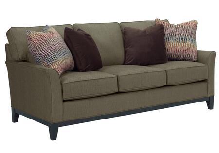 Perspectives Collection 4445-3/8937-83/4114-55/8686-89 80 inch  Sofa with Pillows Included  DuraCoil Reversible Seat Cushions  Non-Sag Springs and Tapered Feet in