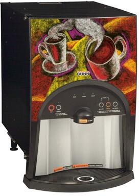 38800.0000 LCA-2 LP Low Profile 2 Product Liquid Coffee Ambient Dispense with Scholle 1910LX  LED Light Alerts  in 739752